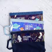 Dreams Space Canvas Tote Folder A4