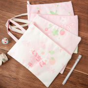 Strawberry Ichigo Canvas Tote Folder A5