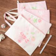 Strawberry Ichigo Canvas Tote Folder A5