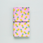 Momo Leather Travelers Notebook Pineapple