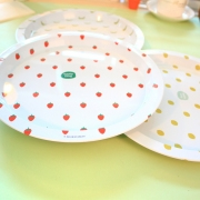 Fruit Pattern Food Tray