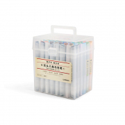 Drawing Sense Twin Marker Box Set 48 Colors