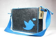 Twitter DIY Messenger Bag