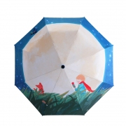 Little Prince Design Folding Umbrella