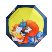 Nine Cats Design Folding Umbrella