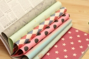 Polkadot Wrapping Paper Book